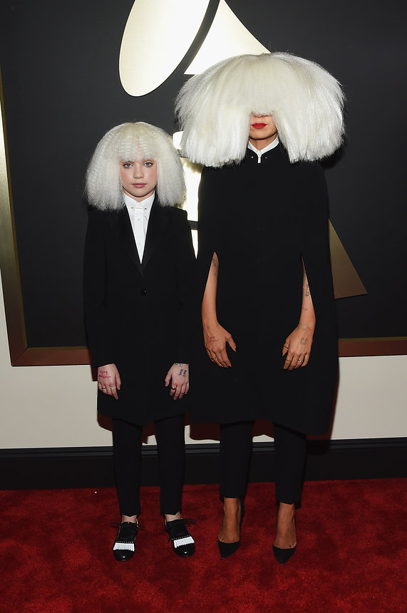 sia-grammy-2015-red-carpet
